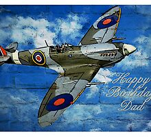 Happy Birthday Dad Spitfire by starprice