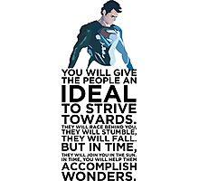 Superman Typography  Photographic Print