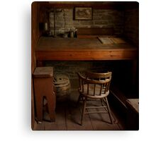 Roblin's Mill Office Canvas Print