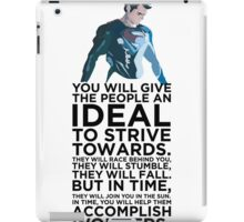 Superman Typography  iPad Case/Skin