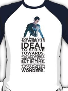 Superman Typography Part 2 T-Shirt
