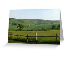 Windover Hill, East Sussex Greeting Card