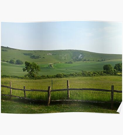 Windover Hill, East Sussex Poster