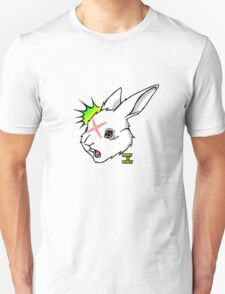 RABBIT vs ROBOT Smudgey w/ small title T-Shirt
