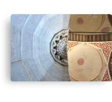 Mosque Mash Up Metal Print