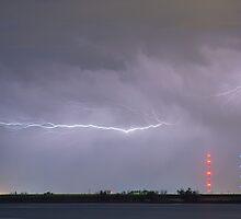 Lightning Bolting Across the Sky by Bo Insogna
