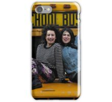 BROAD CITY'S ABBI & ILANA ON A SCHOOL BUS iPhone Case/Skin