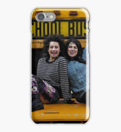 BROAD CITY'S ABBI & ILANA ON A SCHOOL BUS iPhone Case/Skin