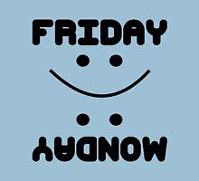 Friday Yey, Monday Nay Unisex T-Shirt