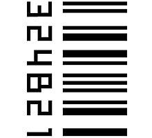 Cosima's barcode  Photographic Print