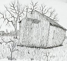 Machine Shed Stand by Jack G Brauer