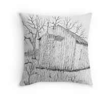 Machine Shed Stand Throw Pillow