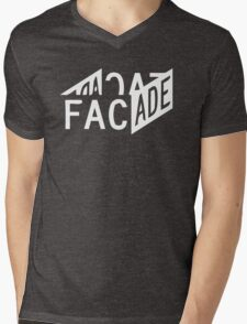 Facade - Grand Theft Auto Mens V-Neck T-Shirt