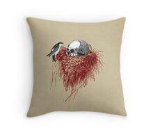CANTO DE GOLONDRINAS COMO METAL CRUDO (vr.4) Throw Pillow