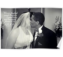Findeth A Wife Poster