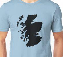 Map of Scotland Unisex T-Shirt