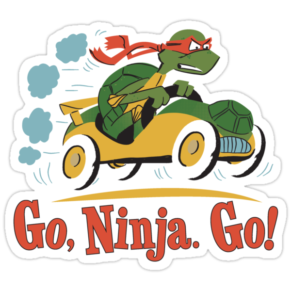 Go, Ninja. Go! by Blueswade