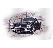Corvette for Fun Poster