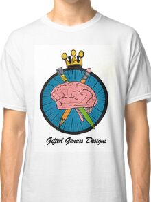 Gifted Genius Designs Logo Classic T-Shirt