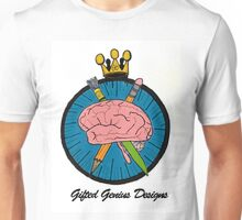 Gifted Genius Designs Logo Unisex T-Shirt