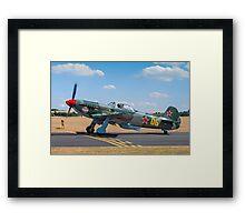Yakovlev Yak-9UM RA-3587K Framed Print