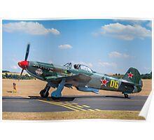 Yakovlev Yak-9UM RA-3587K Poster