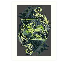 Two Eyes Art Print