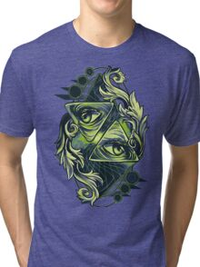 Two Eyes Tri-blend T-Shirt