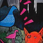 Urban Garden Painting by Fangpunk