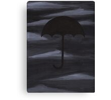 Dark Shelter painting Canvas Print