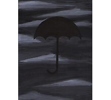 Dark Shelter painting Photographic Print