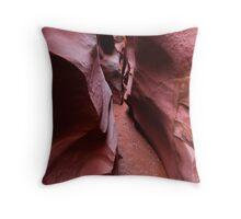 Spooky Canyon Throw Pillow