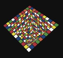 Illusion Cube  by Doucey Tees