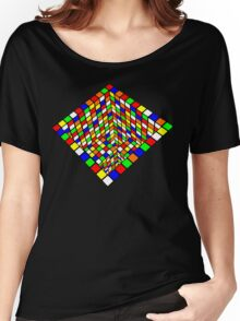 Illusion Cube  Women's Relaxed Fit T-Shirt