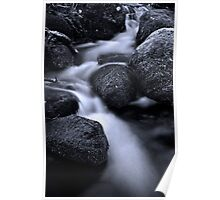 Fast Flowing Creek Poster