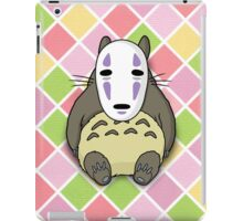Totoro has NO FACE iPad Case/Skin