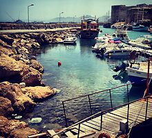 The Harbour, Cyprus by Browneyedgirl78