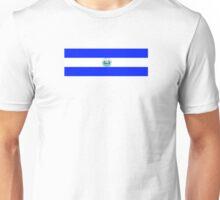 El Salvador Logo-Bandera Unisex T-Shirt