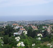The View from Bellapais, Cyprus by Browneyedgirl78