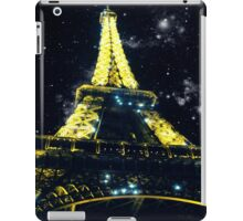Stars and the Eiffel Tower iPad Case/Skin
