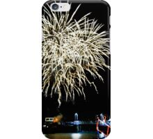 Cornwall: Fireworks over Padstow iPhone Case/Skin