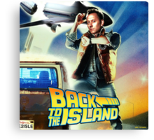 Back to the Island Canvas Print