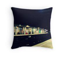 The Metro in Paris Throw Pillow