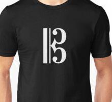 C Clef Unisex T-Shirt