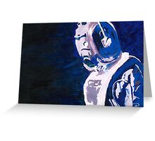 Excellent Leader - Cyberman Painting Greeting Card