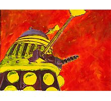 Exterminate - Dalek Painting Photographic Print