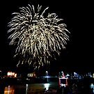 Cornwall: Fireworks over Padstow by Rob Parsons