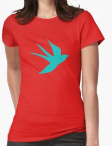 Swallow Womens Fitted T-Shirt