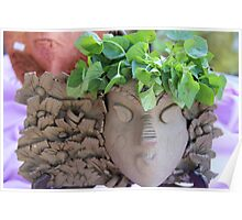 Ruth King - Garden Masks & Planters - #1 of 2 Poster