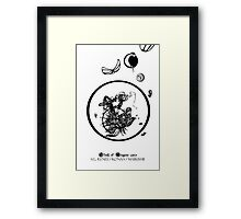 Clash of Weapons chibi mode 2013 Framed Print